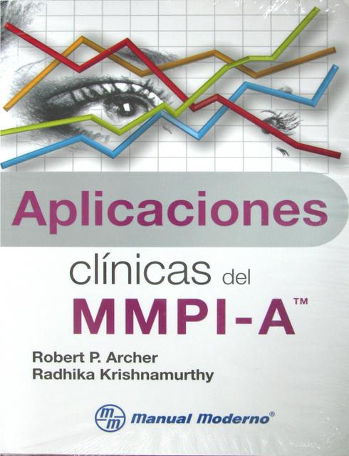 APLICACIONES CLINICAS MMPI-A