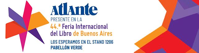 Editorial Atlante en la Feria del Libro
