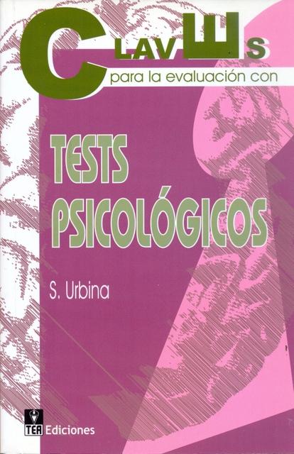 Claves para evaluacion con tests psicologico
